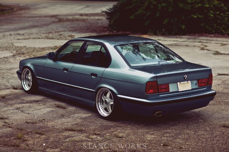 Jonathan Braswell's BMW 535i E34 (1989) Article & Photo by Mike Burroughs via Stanceworks.com
