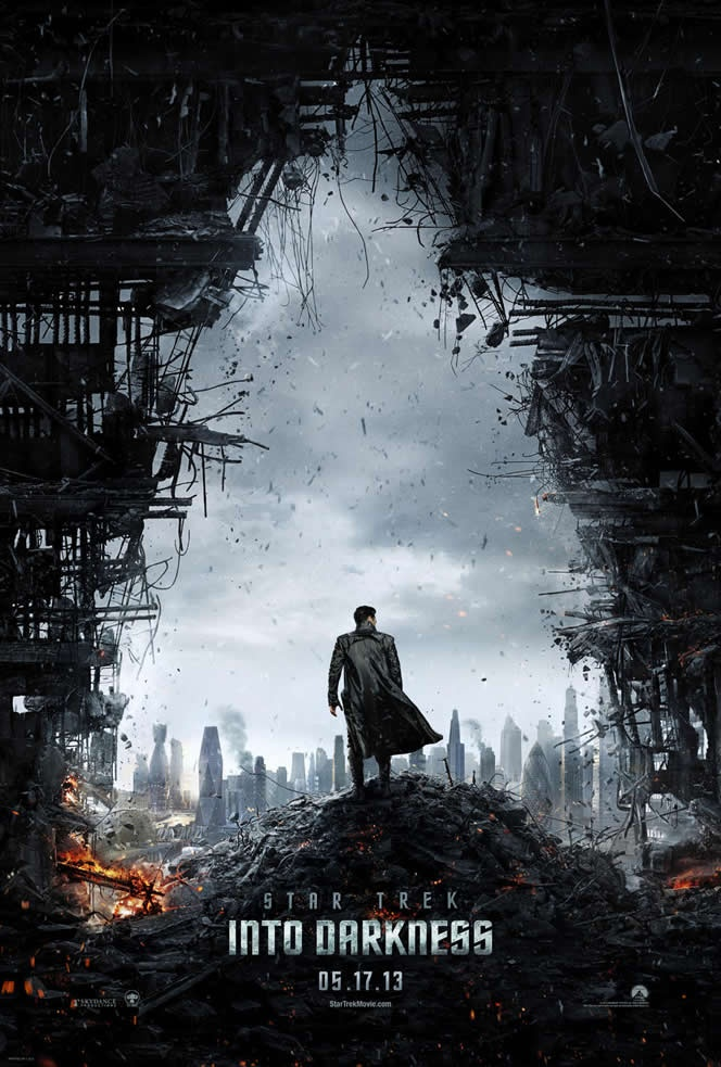 Star Trek Into Darkness First Teaser Trailer and Poster for JJ Abrams Film