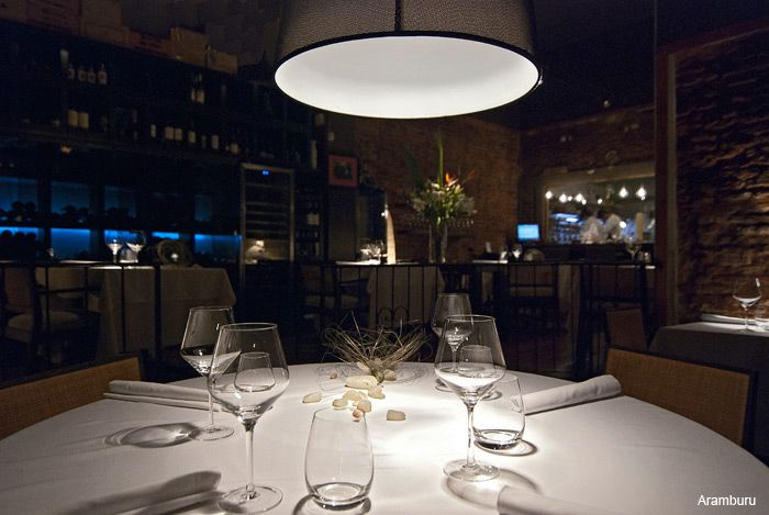 ARAMBURU • Buenos Aires, ARGENTINA • Eclectic Argentinian Menu • The food is amazing with an exquisite presentation, the ambiance is intimate. If you're looking for an impressive, unique and romantic dining experience in Buenos Aires, this is it - a small, intimate dining area with about ten tables and beautiful lighting. Reserve well in advance. It's pricey, but worth it •  54 11 4305-0439 • www.arambururesto.com.ar