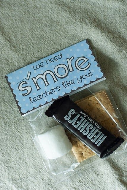 """We need s'more teachers like you! Teacher appreciation gift"