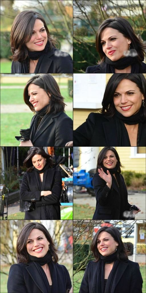 <3 Lana on the set of OUAT (December 11, 2013) <3