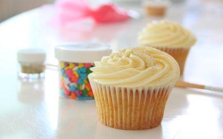Lemon Drop Cupcakes Recipe by Abby Moule