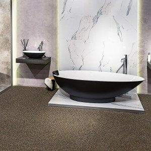 Custom painted bath and basin in matt black by Luxe by Design, Brisbane. We can custom finish any Victoria and Albert bath or basin in any colour. Speak to us on 07 3265 7133 to learn more and find a local retailer.