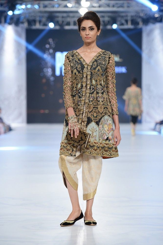 Printed Applique By Mahgul, Designer Luxury Bridal Wear - Fabbitt