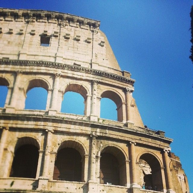 #Colosseum #Italy #Rome