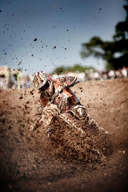 Motocross - Mud = Heaven I love these types of photographs, one day I will photograph this