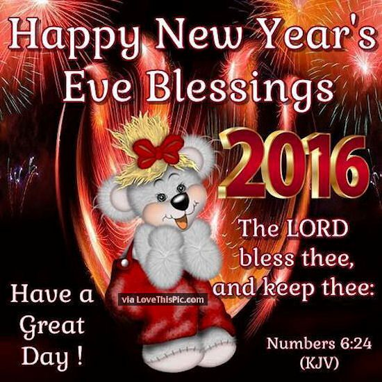 new years eve blessings | Happy New Years Eve Blessings Pictures, Photos, and Images for ...