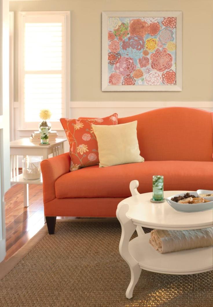 Living Room Ideas Orange Sofa 24 best living room: terracota orange colors images on pinterest