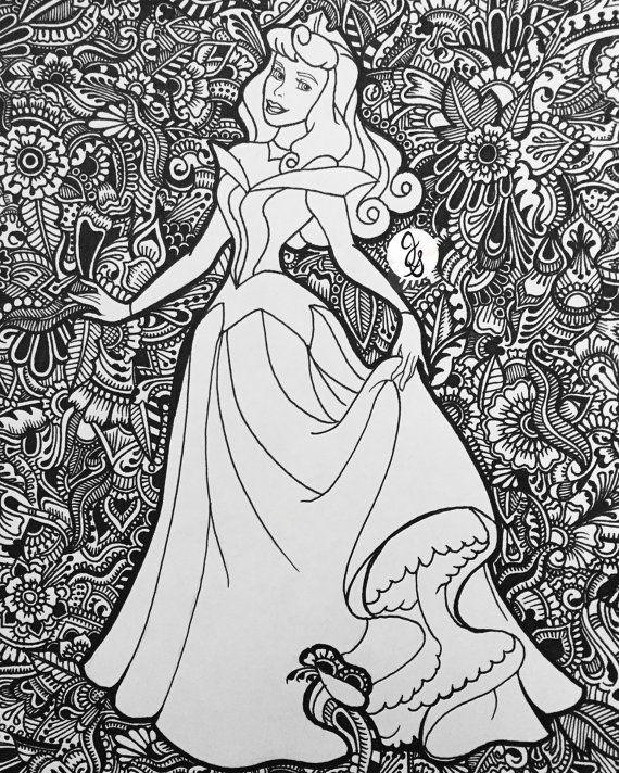 Sleeping Beauty Design par byjamierose sur Etsy