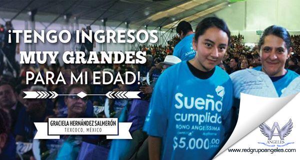 Conoce el testimonio de Graciela Hernández Salmeron como con su corta edad esta generando ganancias de 500 dolares