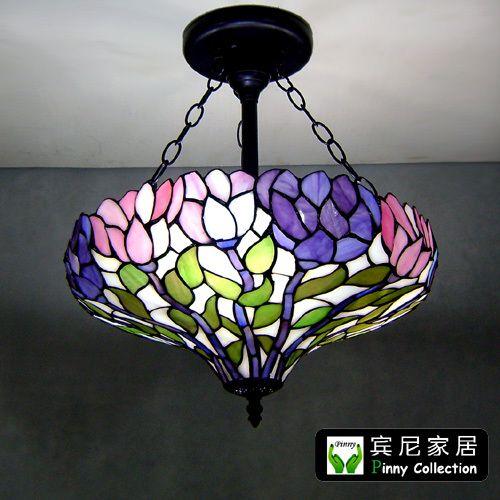 Aliexpress Buy Free Shipping Tiffany Pendant Light Fashion Romantic Lighting Rustic Living Room