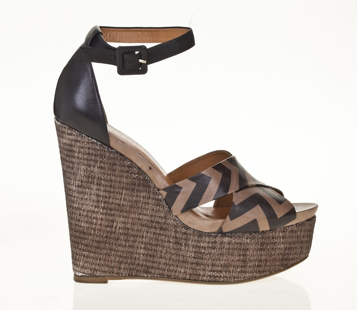 Ankle strap wedge by Vincenza for Lillikoi