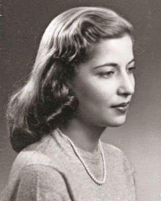 Ruth Bader Ginsburg as a senior at Cornell University (Collection of the Supreme Court of the United States)