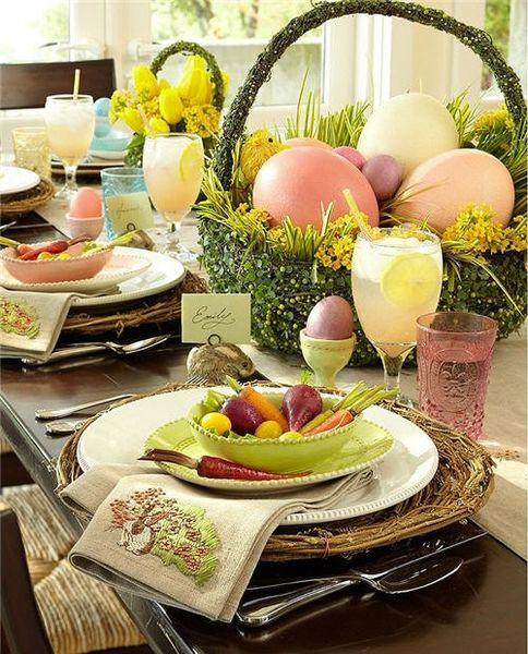 ciao! newport beach: Easter Eggs, Bunnies and Flowers... oh, my!