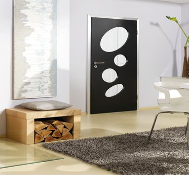 This is an amazing Interior Doors. Imagine having the possibility to realize your own ideas by individual openings and filings.