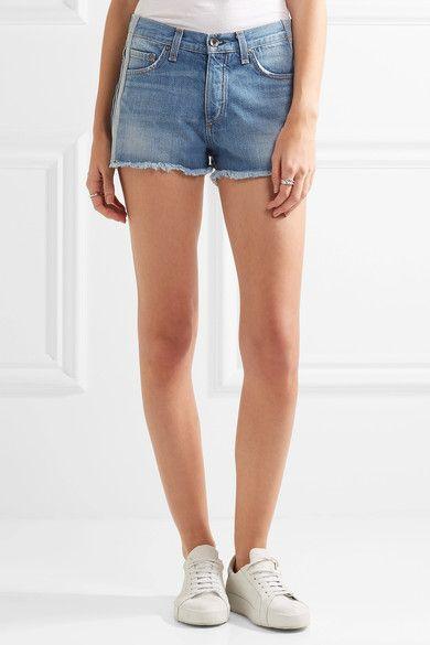 rag & bone - Marilyn Denim Shorts - Mid denim - 29