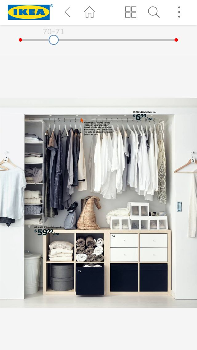 pin von marti bailey auf mom 39 s closet pinterest wg zimmer begehbarer kleiderschrank und. Black Bedroom Furniture Sets. Home Design Ideas