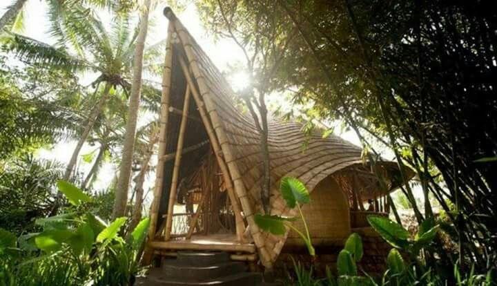 Bangaló em bambu