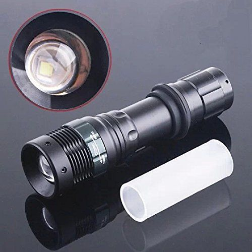 Ultrafire Cree XREQ5 LED LED Flashlight 400lumens4wDistance 20100m Zoomable Torch * Check out this great product.