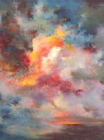 Passions, sunset 7004 Painting Rikka Ayasaki France