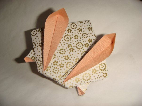 origami coniglio rabbit