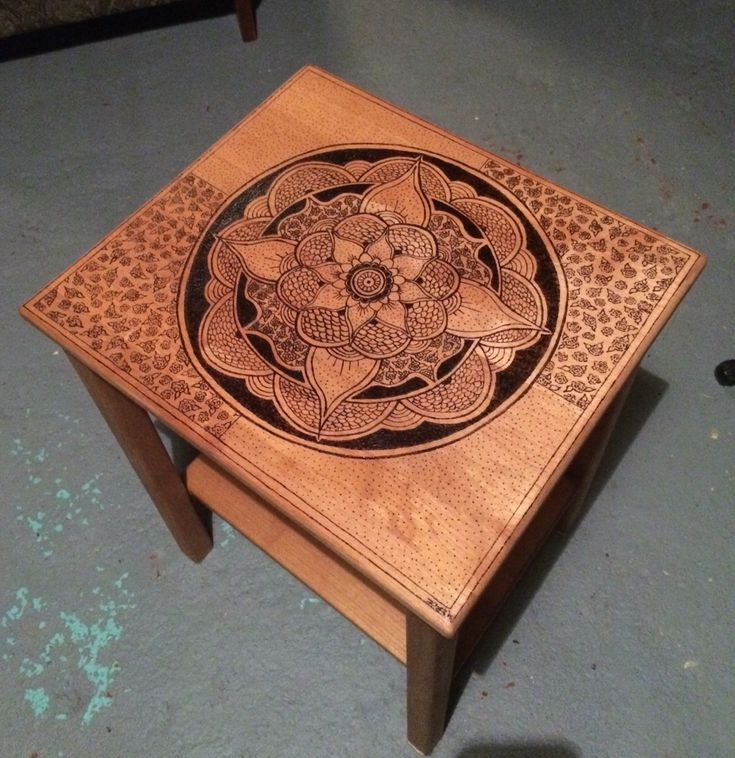 best woodburn and painted art  on Pinterest