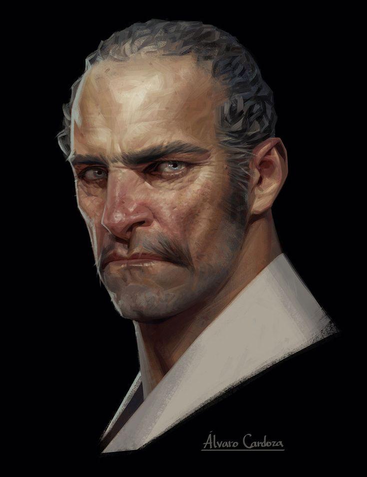 Alvaro Cardoza Portrait from Dishonored: Death of the Outsider