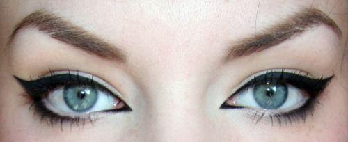 Cat Eyes: Cats, Make Up, Eyeliner, Eye Makeup, Cat Eyes, Style, Beauty, Hair