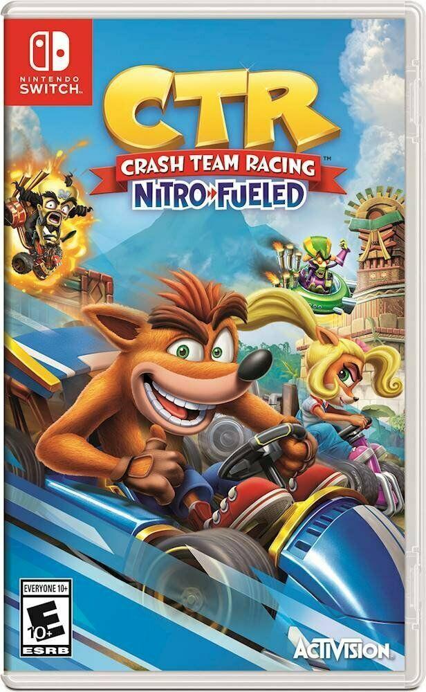 Ctr Crash Team Racing Nitro Fueled Nintendo Switch Brand New Nintendoswitch Nintendo Switch Juegos De Consolas Nintendo Juegos Nintendo