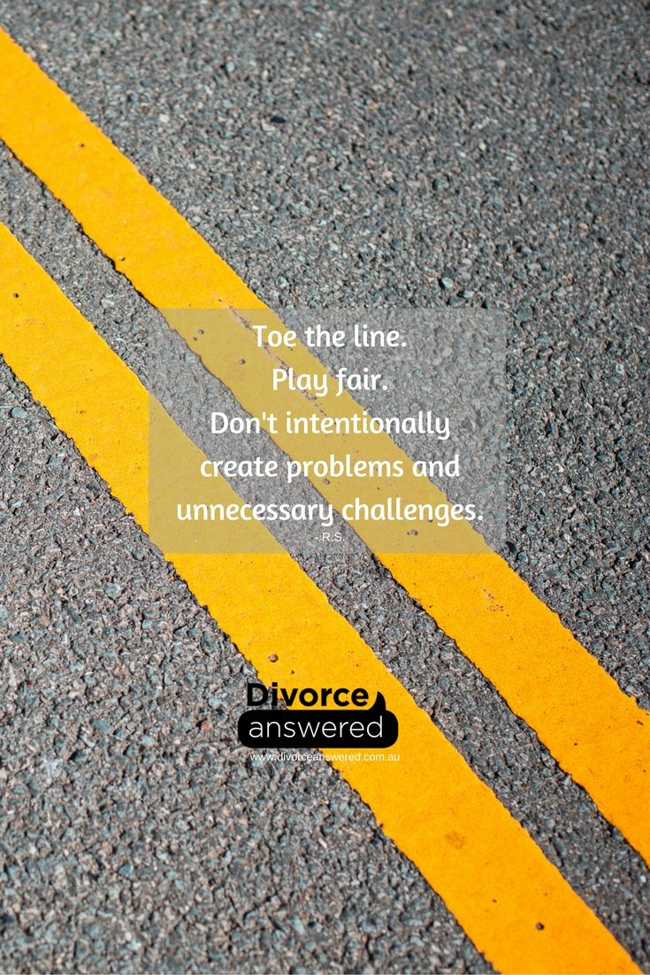 #Separation and #divorce can become incredibly complex without adding manipulation and deceit. Play fair. #divorceanswered #playfair