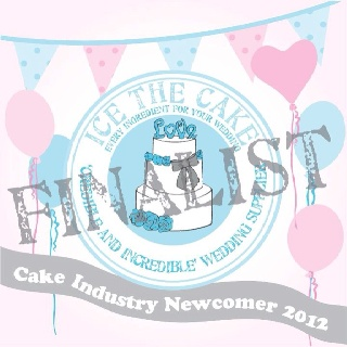 My award from Ice The Cake x