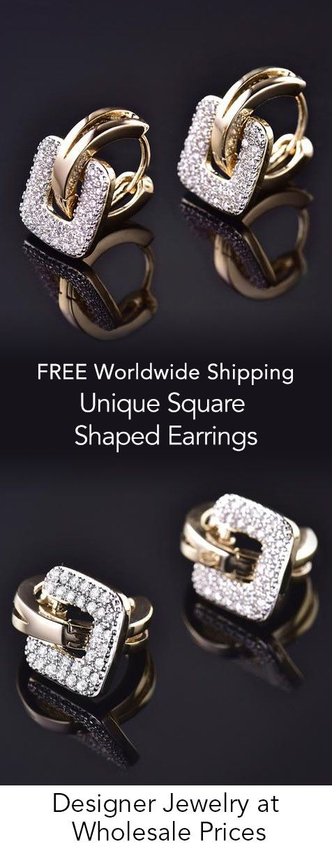Unique Square Shaped Earrings