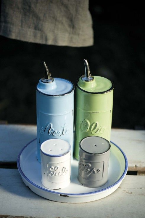 Virginia Casa - Vecchio Smalto - Decorative hand-painted earthenware made in Tuscany, Italy