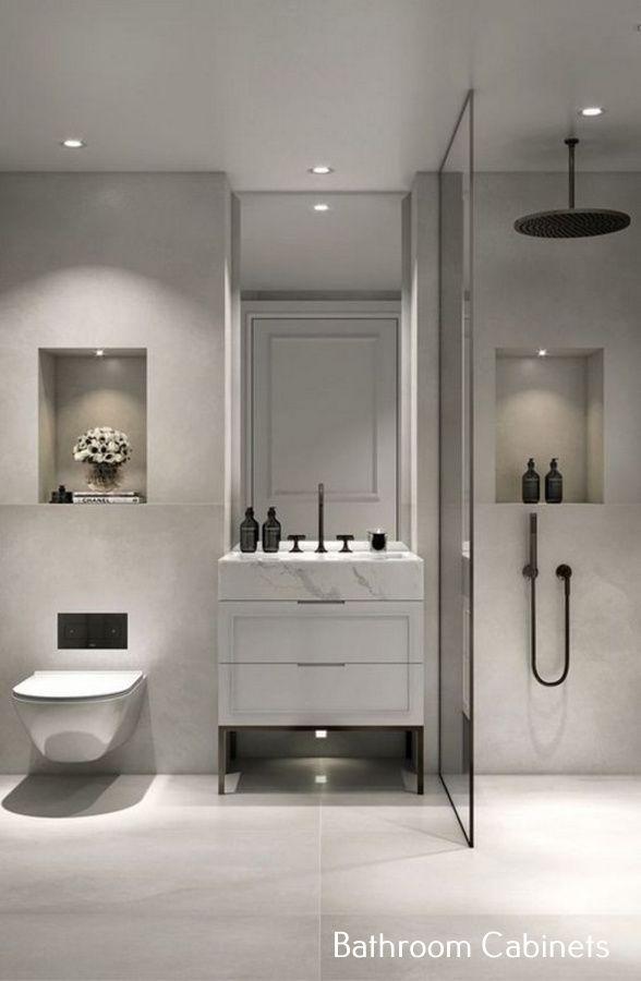 White Bathroom Vanity Ideas Bathroom Interior Design Moder Bathroom Design Modern Bathroom