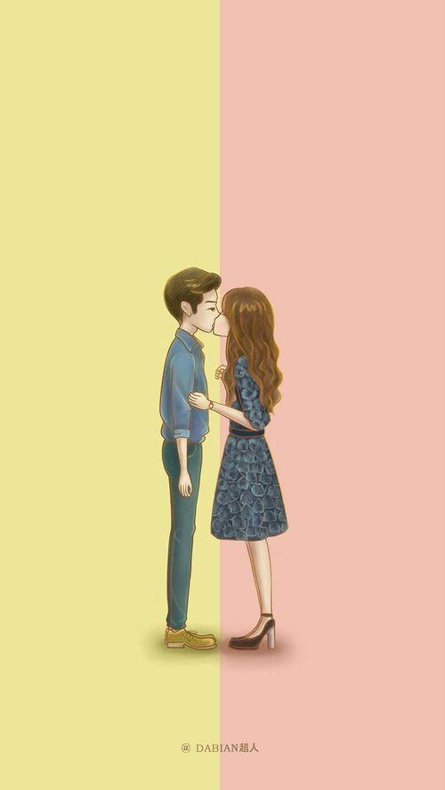 Las etiquetas más populares para esta imagen incluyen: couple, girl, wallpaper y cute