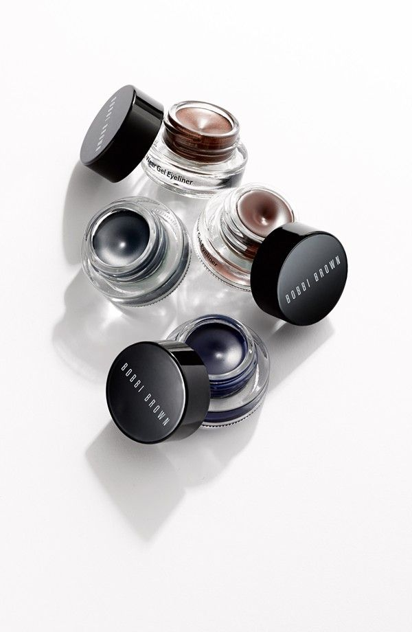 This Bobbi Brown gel eyeliner is a beauty must-have. Long-wearing, and water-resistant? Yes, please!