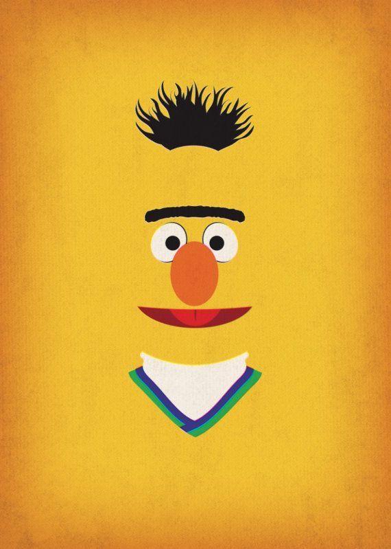 21 best Sesame street nursery images on Pinterest   Sesame streets ...