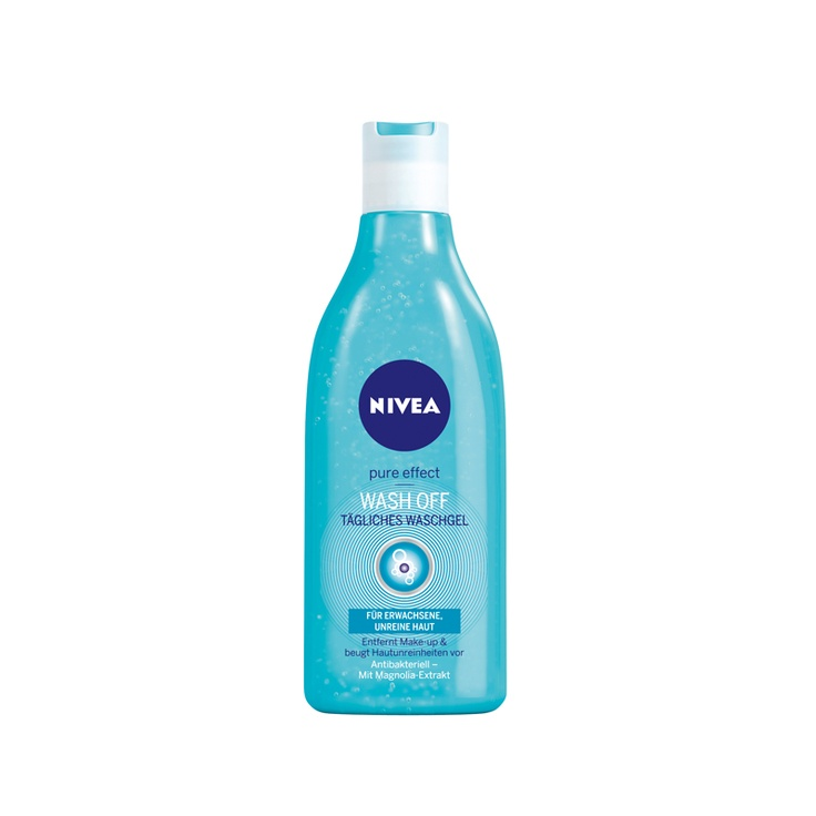 NIVEA PURE EFFECT WASH OFF GEL