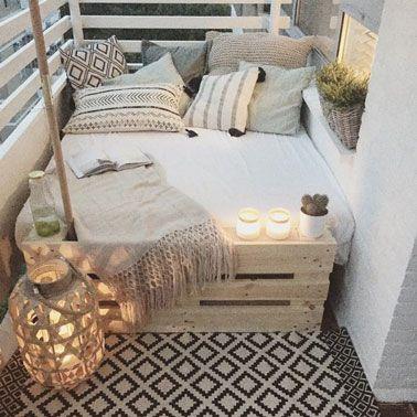 La déco terrasse se fait cosy pour les adeptes du farniente ...