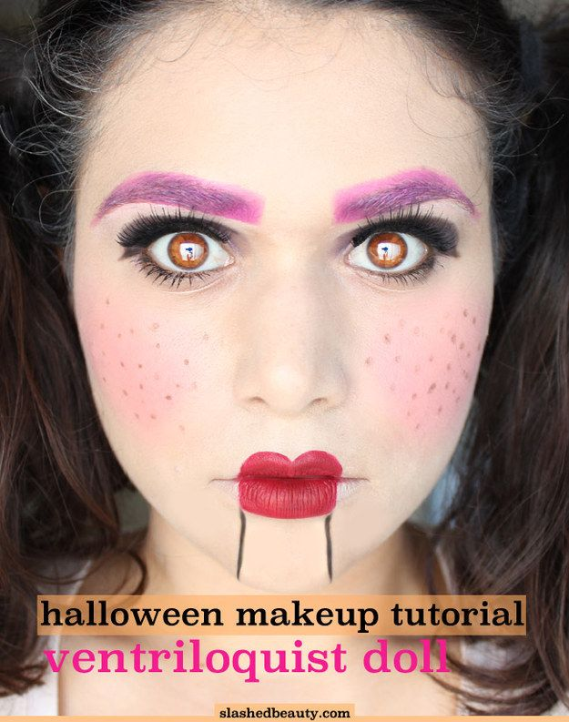 halloween makeup you can do at home