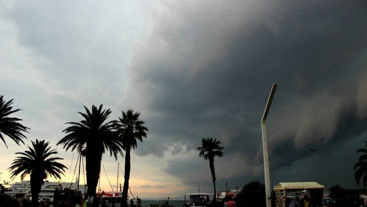 Búrka na Splite