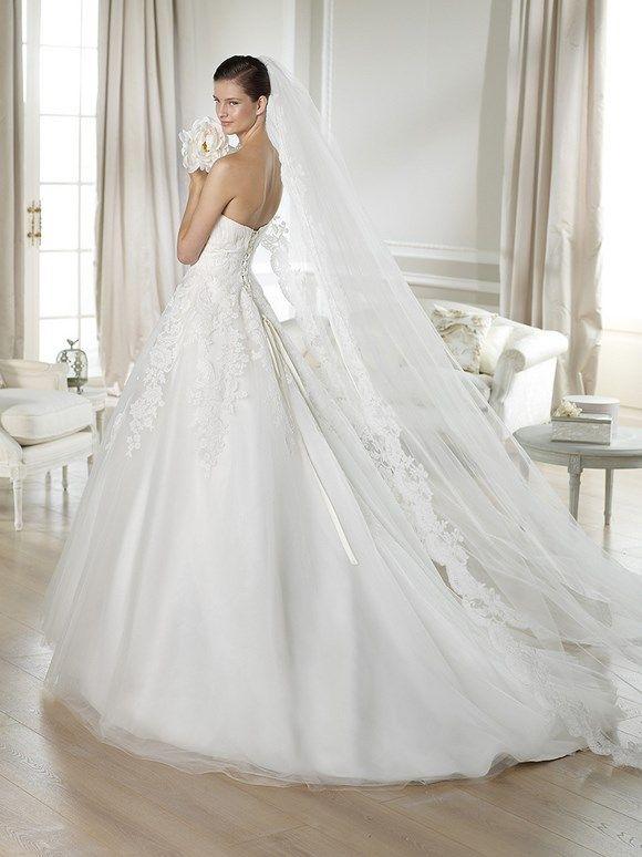 TOSCANA / Wedding Dresses / White One 2014 Collection / San Patrick (back)