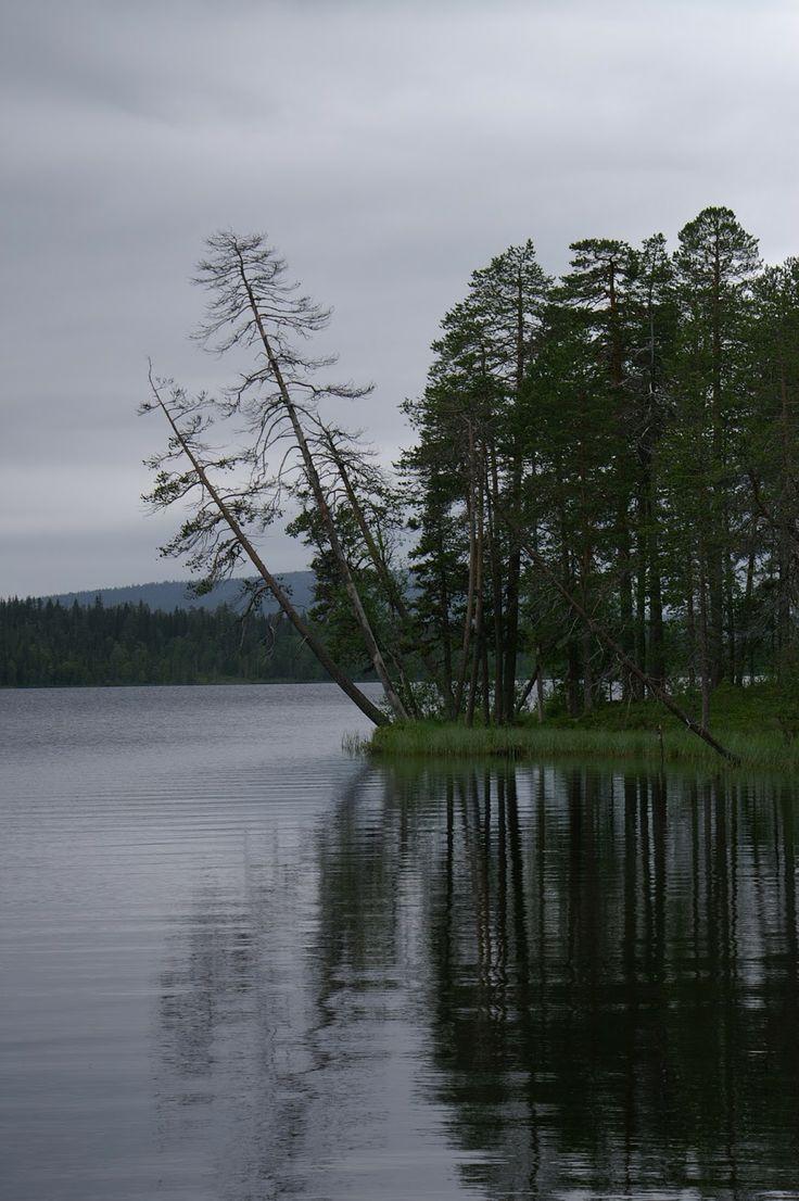 Kesänkijarvi Lake, Äkäslompolo