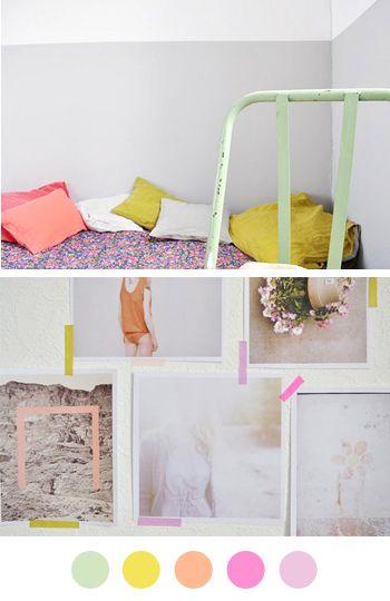 #color #palette #pastels