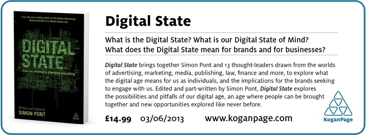 Digital State, 2013, out now.