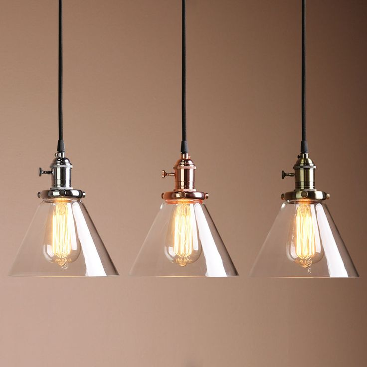 VINTAGE COPPER INDUSTRIAL CAFE BAR GLASS METAL PENDANT LAMP SHADE LIGHT FIXTURE