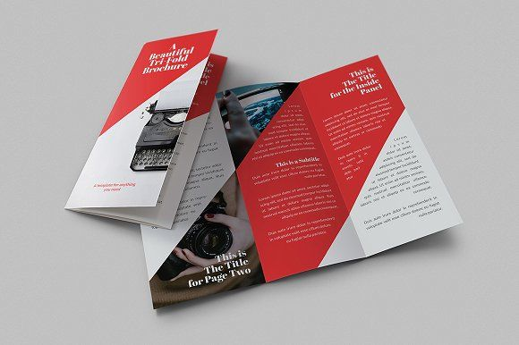 Beautiful Tri-Fold Brochures  @creativework247