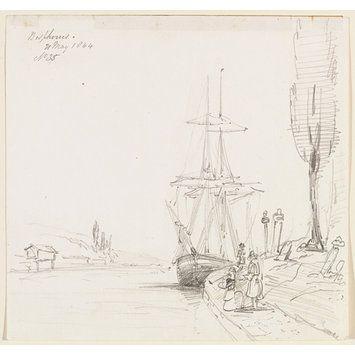 Bosphorus (Drawing) Sir George Scharf