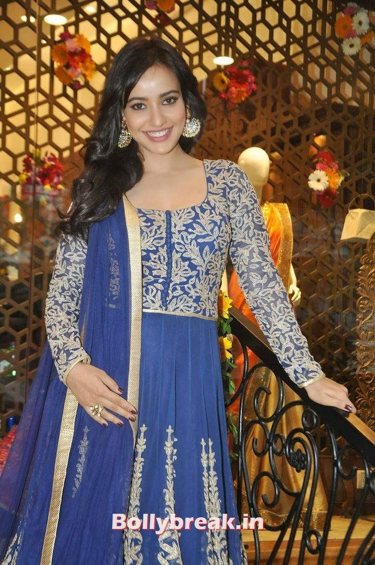 Neha Sharma in Blue Dress at HUE Store Launch Event In Huges Road, Mumbai