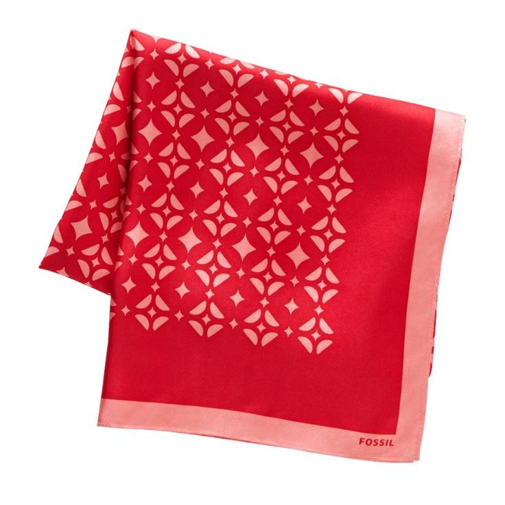 fossil signature scarf pattern design